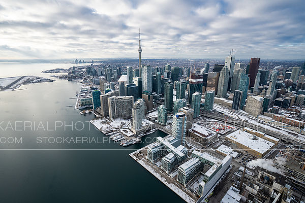 Downtown Toronto East Bayfront Waterfront