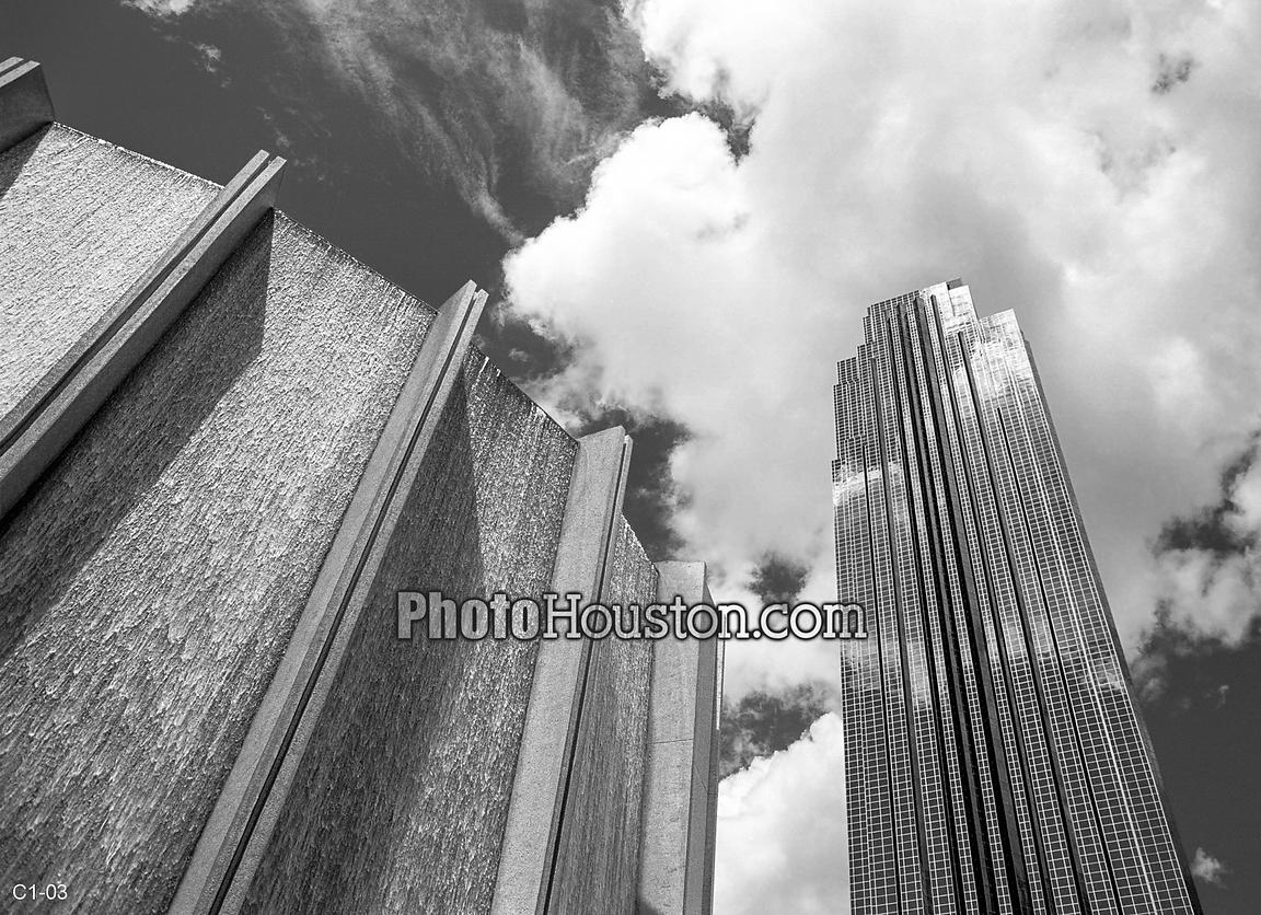 Waterwall and Transco Tower