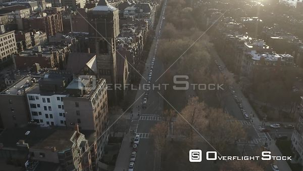 Commonwealth Avenue in Boston, MA, United States during the COVID-19 Pandemic (7 of 7)