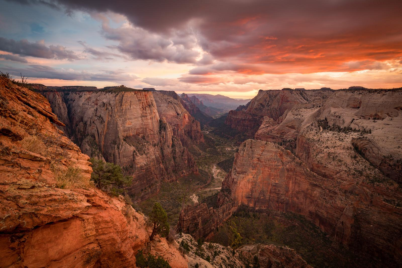OBSERVATION POINT, ZION NP