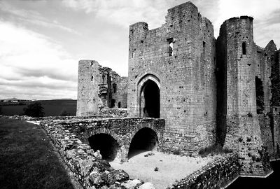 Raglan Castle Infrared