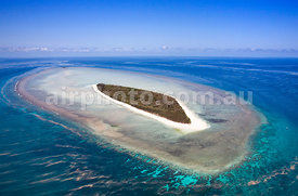 Broomfield Island on Great Barrier Reef.