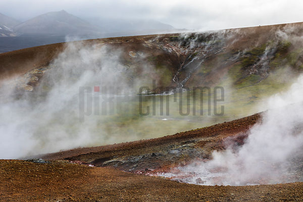 Geothermal Area in the Fjallabak Region