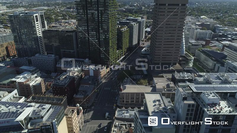 Drone Video CBD Sydney Australia during COVID-19 Pandemic