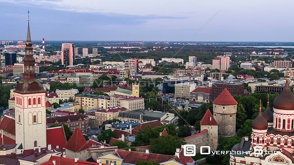 Drone Video Capital Tallinn Estonia