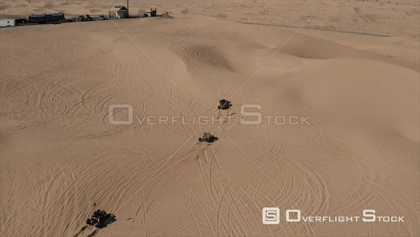 ATVs on Imperial Sand Dunes Yuma Arizona