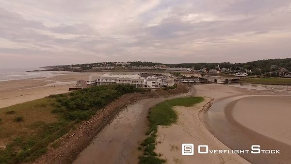 Flying low over Ogunquit beaches.