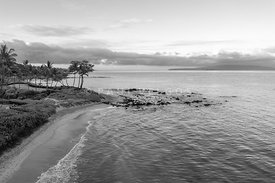Maui Aerial Photography in Black and White