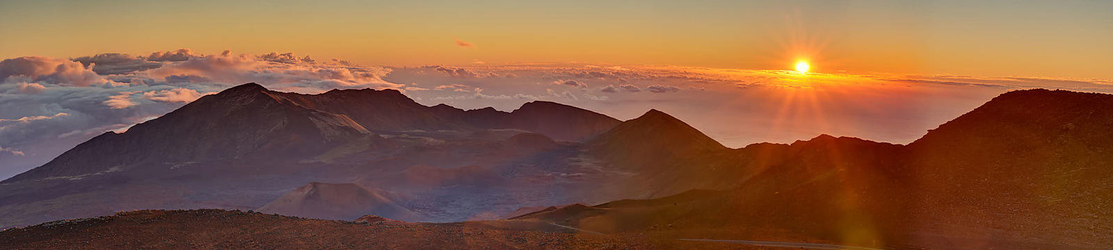 Haleakala Sunrise Panorama