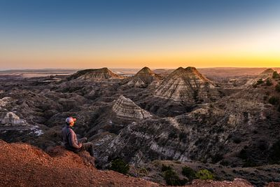 Terry Badlands Sunset 1