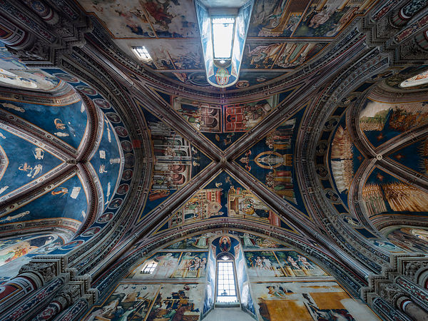 The Frescoes on the Ceiling of the Church of Saint Catherine of Alexandria in Galatina
