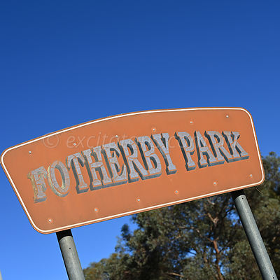 Fotherby Park Sign, Wentworth.