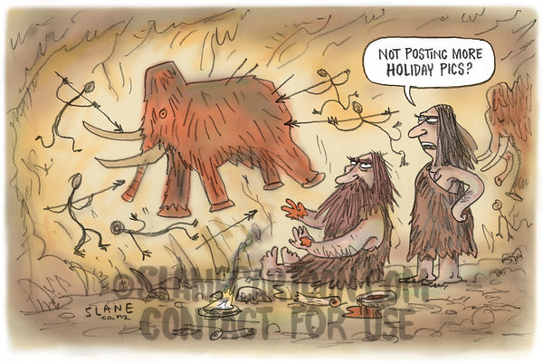 Caveman Holiday Pictures
