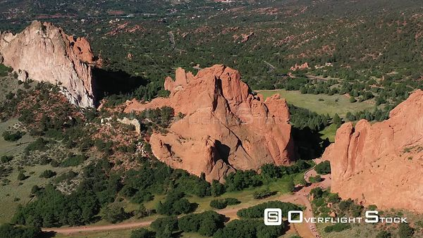 South Gateway Rock, Garden of the Gods, Colorado Springs, Colorado, USA