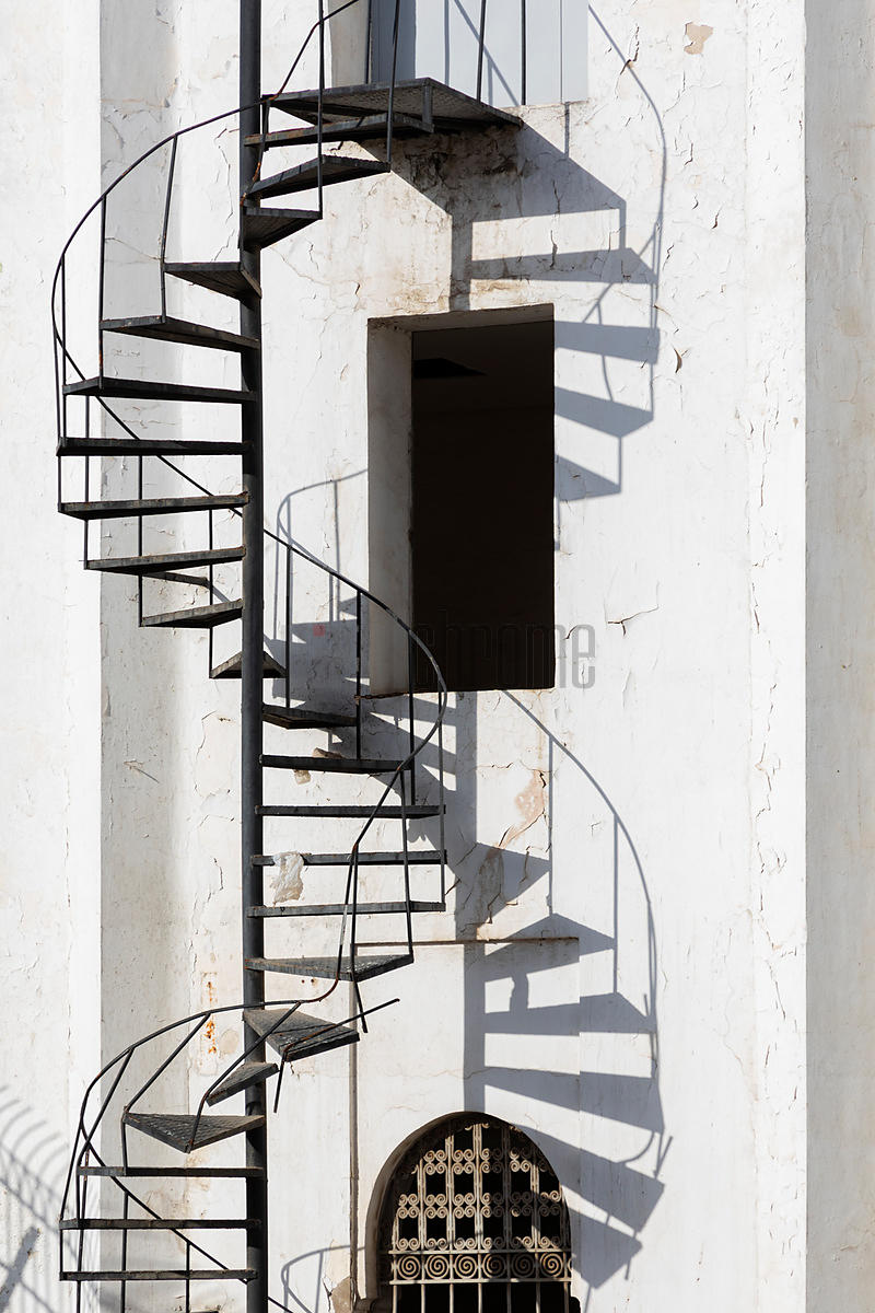 Spiral Staircase and Shadows