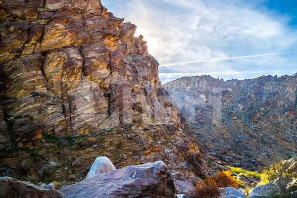 Tahquitz Canyon Hike Trail in Palm Spring, California