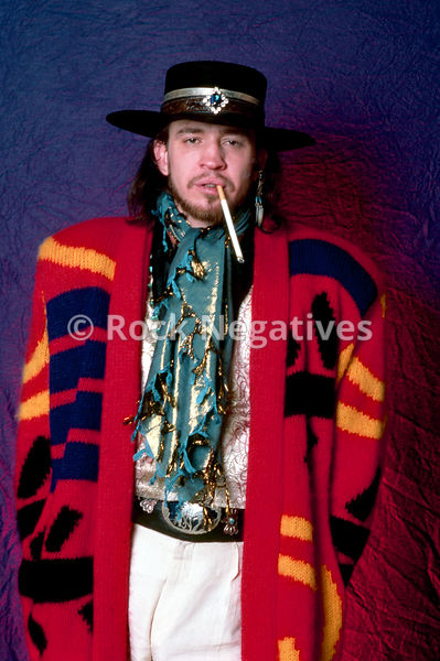Stevie Ray Vaughan and Double Trouble Portrait Session