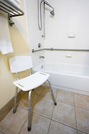 Hotel Disability Access Bathtub and Shower