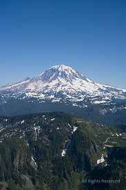 Mount Rainier Washington USA