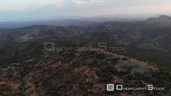 Naibunga Conservancy In Kenya Africa Landscape Drone Aerial View