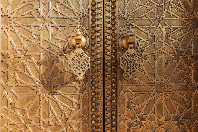 Doors of the Royal Palace at Fez