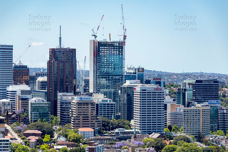 North Sydney From the South
