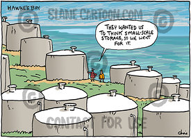 Water Tanks Not Dams