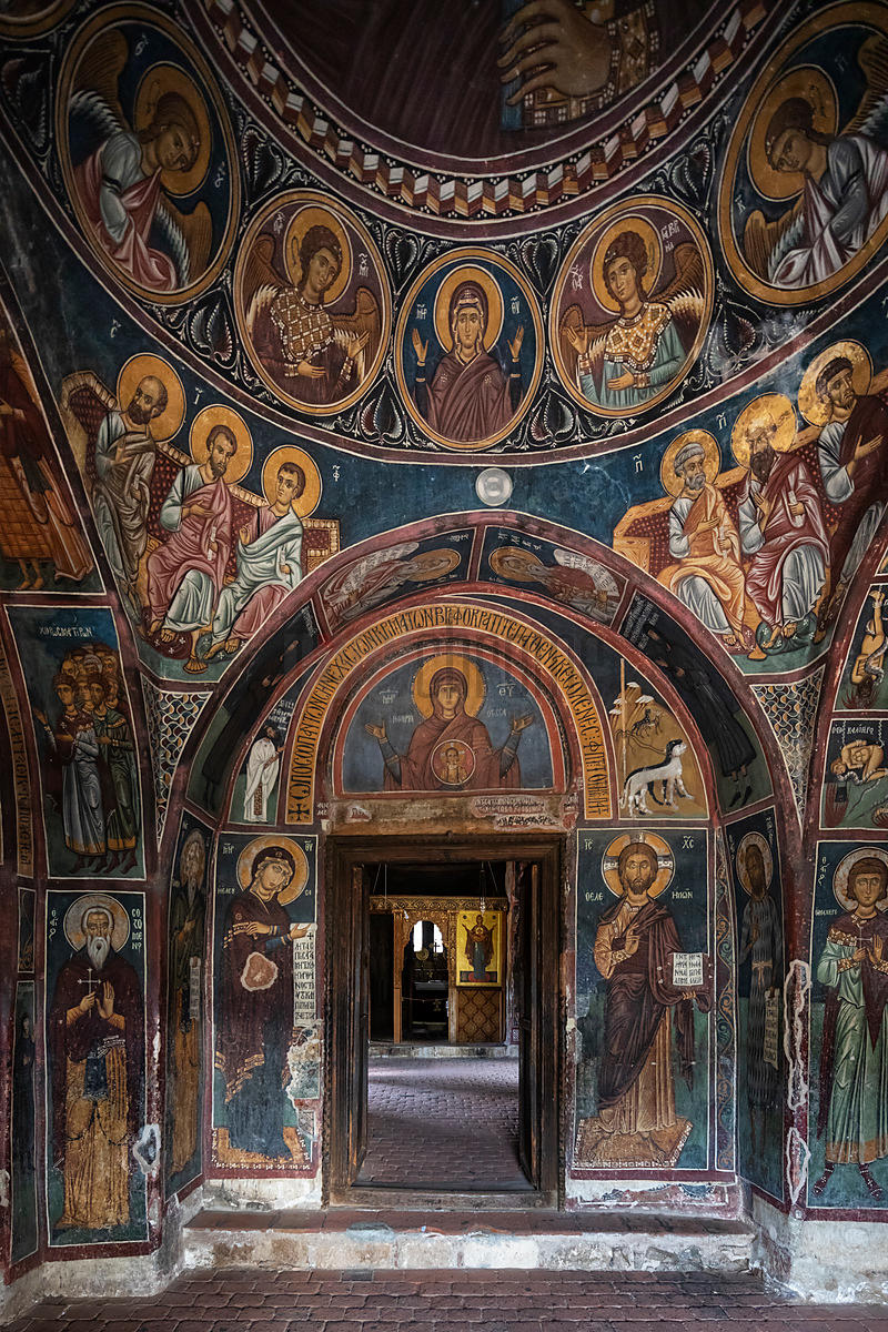 Frescoes in Panagia Podithou Church