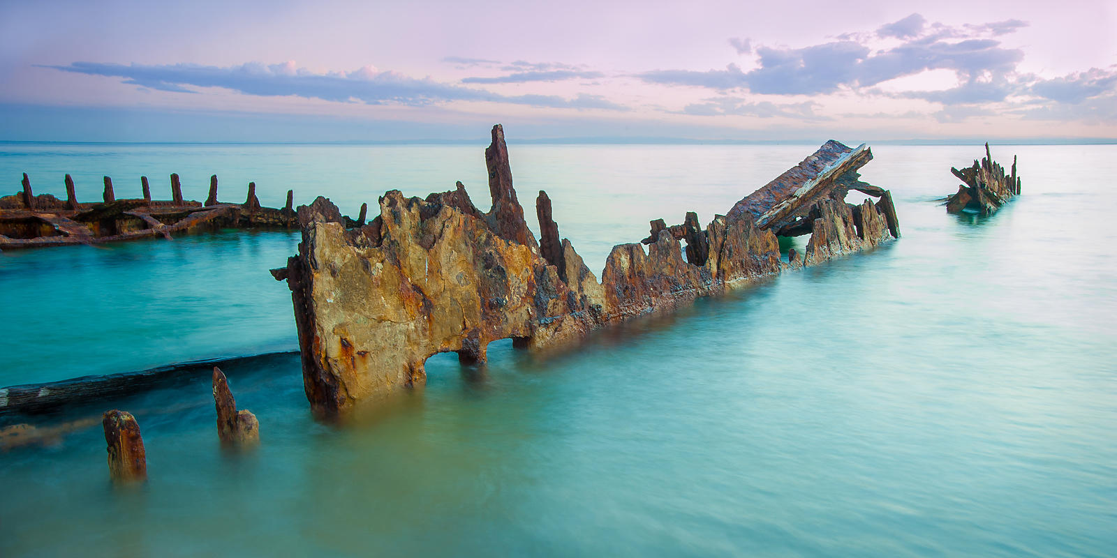 Jagged Edge, Moreton Island, Queensland, Australia