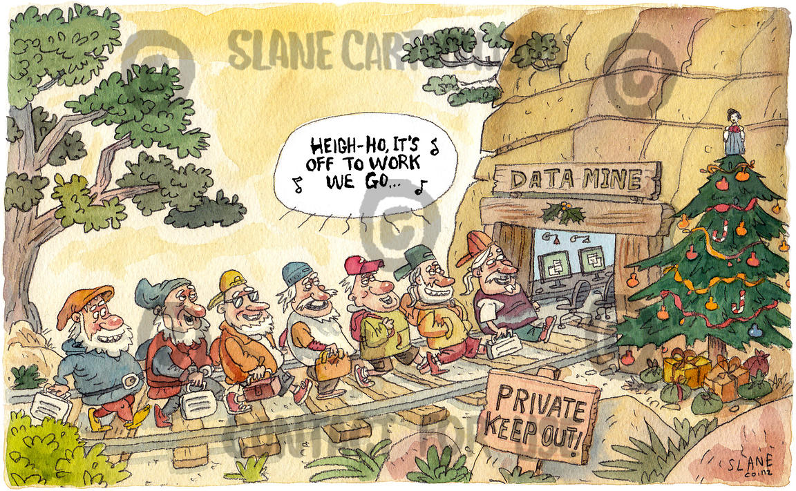 Seven Dwarves Go Data-mining