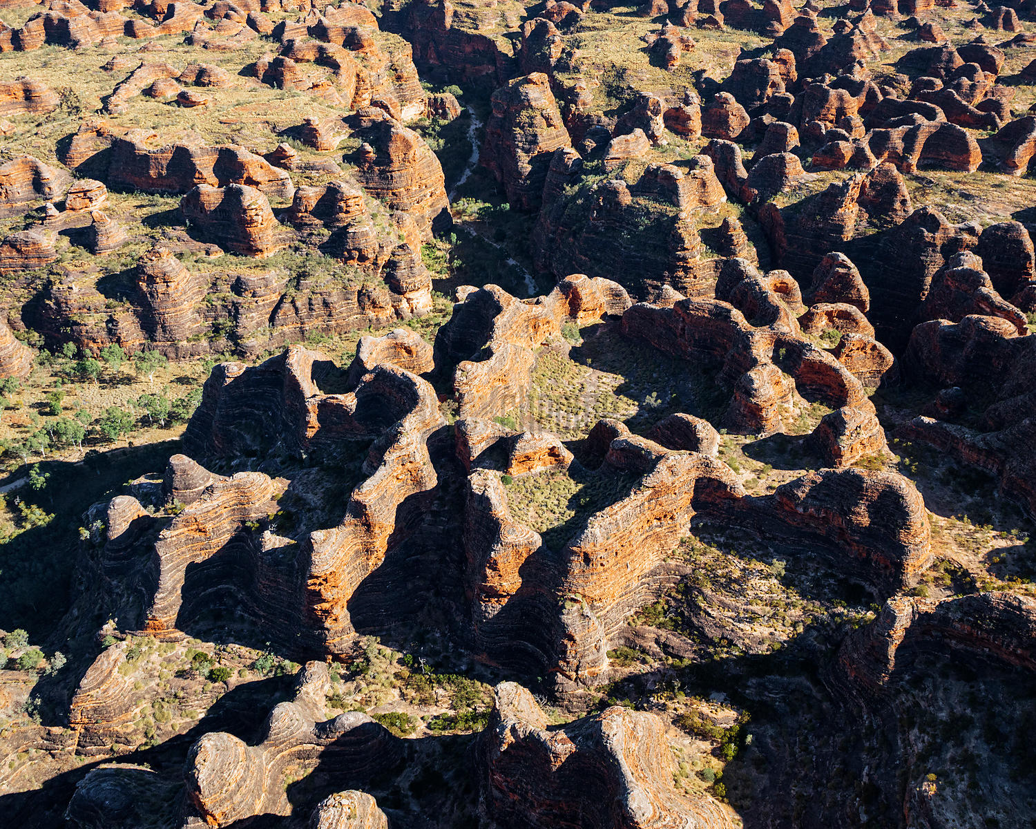 Aerial View of the Bungle Bungles