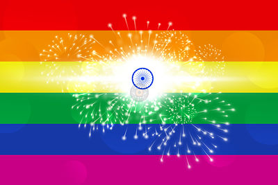 India Celebrates Decriminalisation of Gay Sex.