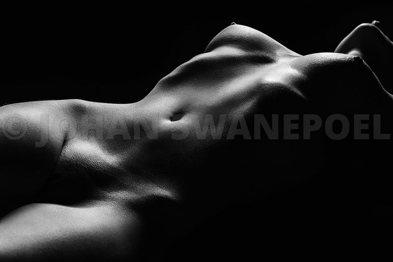 Nude woman bodyscape 47