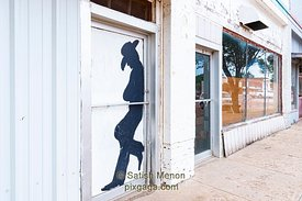 Abandoned Store Front, White Deer, Texas, USA
