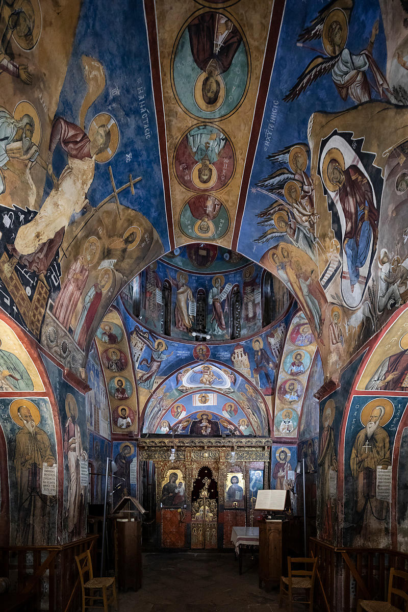 Interior of Panagia Tou Araka