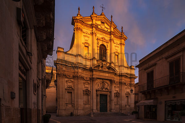 Chiesa di Santa Irene at Sunrise