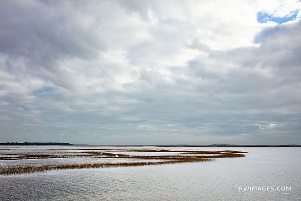 ST. MARY'S RIVER MARSHES CUMBERLAND ISLAND GEORGIA