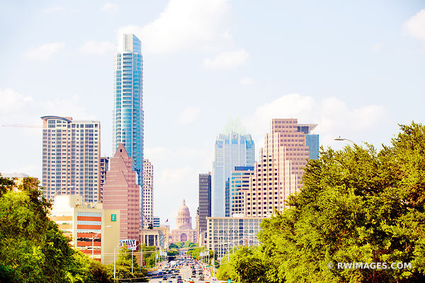 CONGRESS AVENUE DOWNTOWN AUSTIN TEXAS