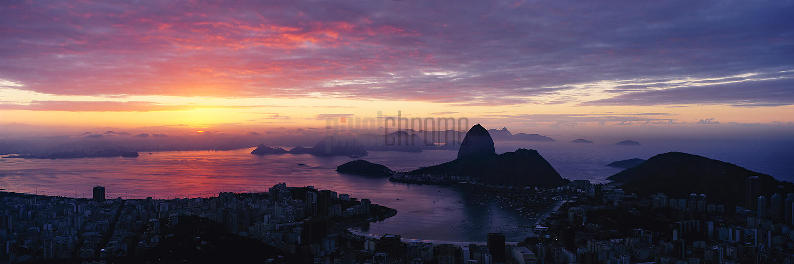 Sunrise Overlooking Botafogo Bay