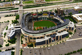 Chicago White Sox Stadium Aerial Picture