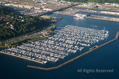 Marina in Seattle Washington USA