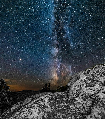 Milky Way Over Bear Rocks, Dolly Sods