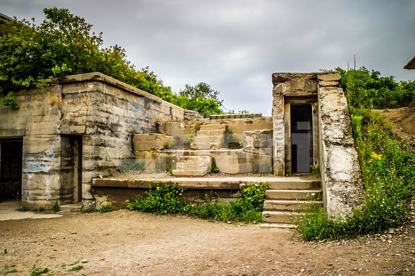 The Abandoned Army Ruins of Fort Williams