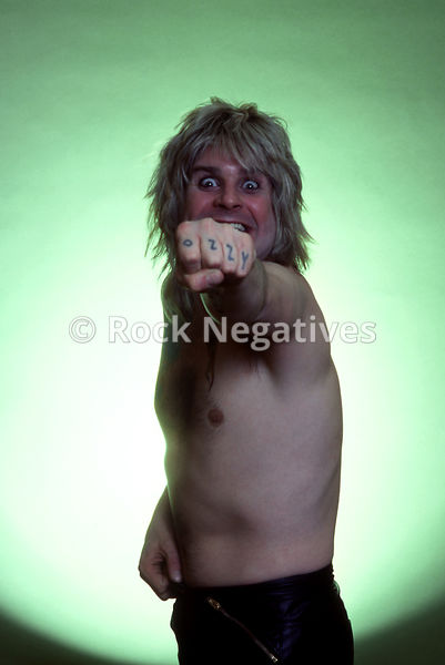Ozzy Osbourne Portrait Session