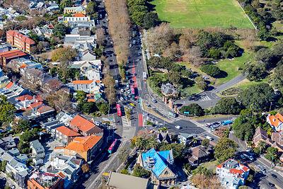Woollahra Intersection