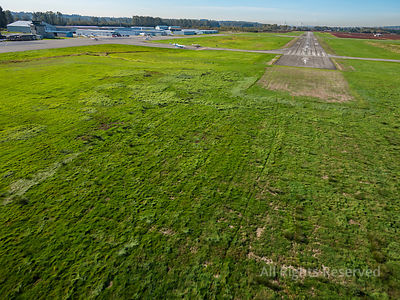 Runway 26L at Pitt Meadows Airport