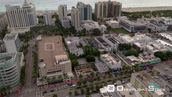 Historic architecture Miami Beach buildings 4k