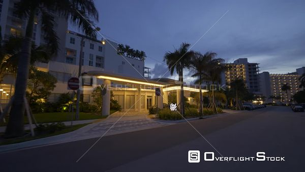 New Hotel Gale Fort Lauderdale Fl C4k Night Video