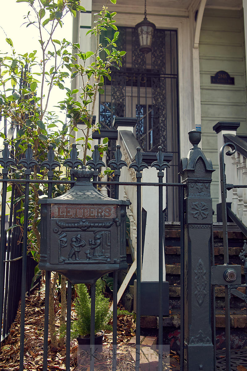 New Orleans letterbox