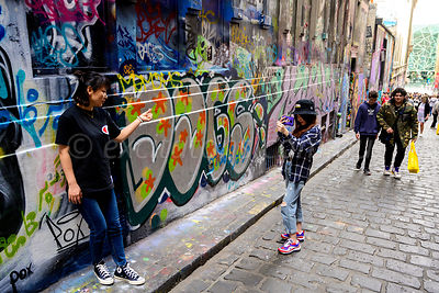 Photography, Hosier Lane, Melbourne.